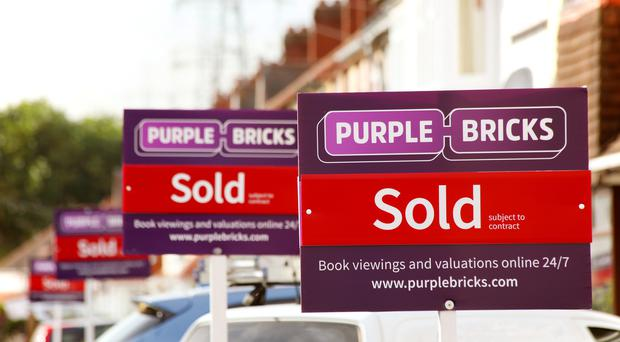 Purplebricks has announced the departure of its founder and CEO (Purplebricks/PA)