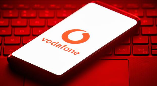 Mobile phone giant Vodafone has agreed a cable deal with Telefonica in Germany to help ease competition concerns over its takeover of large parts of Liberty Global in Europe (Dominic Lipinski/PA)