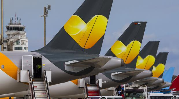 Thomas Cook Airlines planes (Thomas Cook/PA)