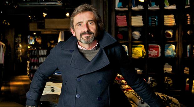 Julian Dunkerton has taken the reins at Superdry (SuperGroup/PA)