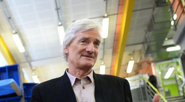Sir James Dyson has revealed details about the company's first electric car (Stefan Rousseau/PA)