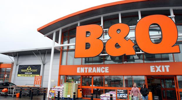 BandQ owner Kingfisher said the DIY chain has enjoyed a sales bounceback thanks to warm spring weather (PA)