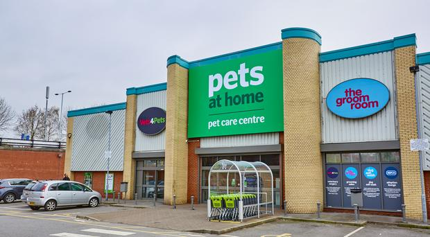 A Pets at Home store in Stockport (Pets At Home/PA)
