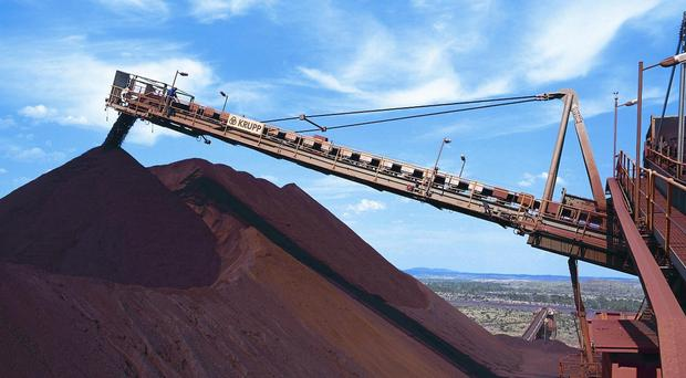 Rio Tinto was one of the top risers on the FTSE 100 (PA)