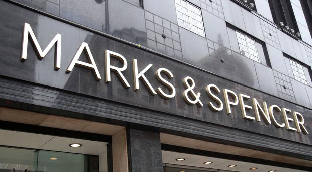 File photo dated 29/5/2018 of a branch of Marks and Spencer. High street giant Marks and Spencer looks set to narrowly avoid relegation from Britain's blue chip share index in this week's FTSE reshuffle, but airline easyJet is on course to nosedive out of the top tier.