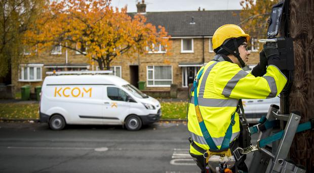 KCOM's board has put its weight behind a bid from Macquarie Infrastructure and Real Assets for the firm (PA)