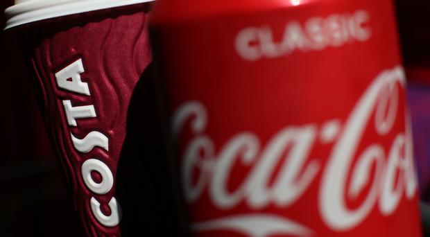 Coca-Cola's acquisition of Costa was one of the few sizeable inward acquisitions of the first quarter (Yui Mok/PA)