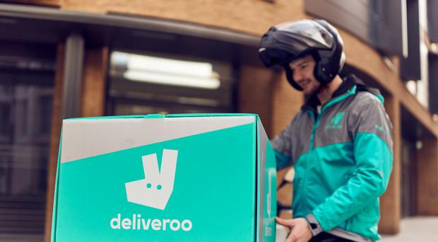 Zego offers insurance to gig economy workers like Deliveroo riders (Mikael Buck/Deliveroo/PA)
