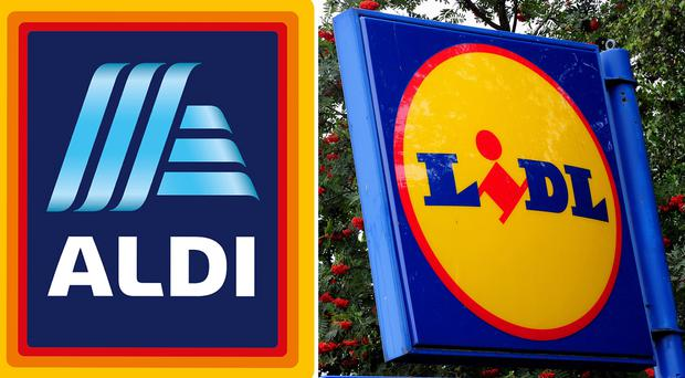 Many people now consider Aldi and Lidl supermarkets rather than discounters (PA)