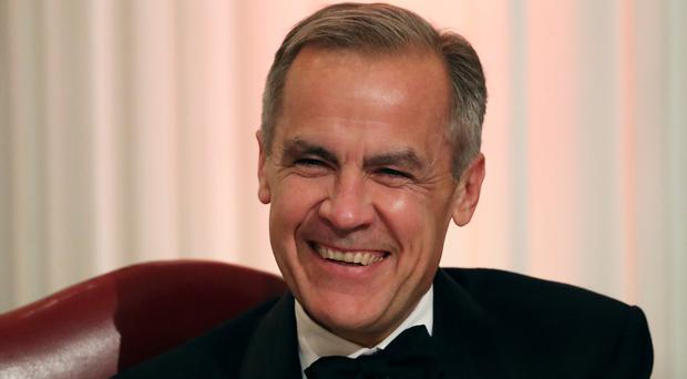Governor of the Bank of England Mark Carney during the annual Bankers and Merchants Dinner at Mansion House in London (PA)