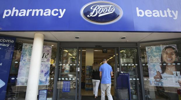 Retail sales at Boots were down in the third quarter (PA)