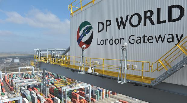 DP World London Gateway, container port in Stanford-le-Hope, Essex (PA)