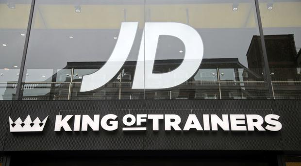 JD Sports has hailed 'encouraging' sales so far this year (Yui Mok/PA)
