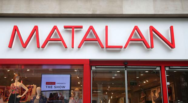 Matalan said the disappointing summer had prompted high street shops to discount seasonal items (PA)