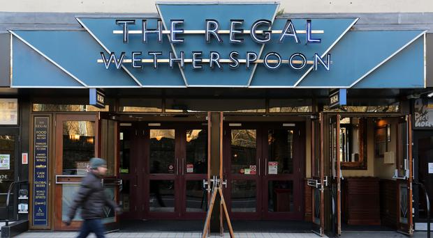 Wetherspoon's sales have remained strong in recent trading (Chris Radbury/PA)
