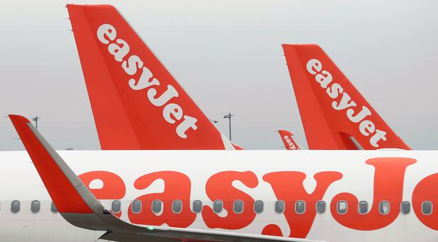 File photo dated 08/03/17 of easyJet aeroplanes. The low-cost airline has cheered an 11% surge in sales thanks to this year's later Easter as it also revealed the group has poached a new operations chief from rival Ryanair.