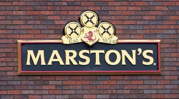 Marston's Park Brewery in Wolverhampton. The publican and brewer saw shares fall after revealing a slowdown in beer sales and confirmed plans to hold off investment (PA)