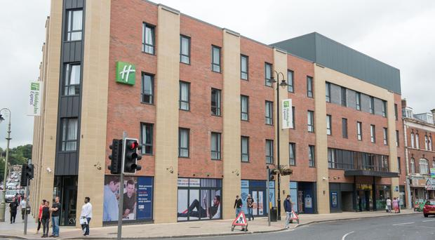 Central site: the £10m Holiday Inn