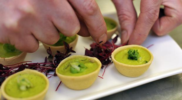 Catering company Compass said it had experienced strong growth in North America (Nick Ansell/PA)