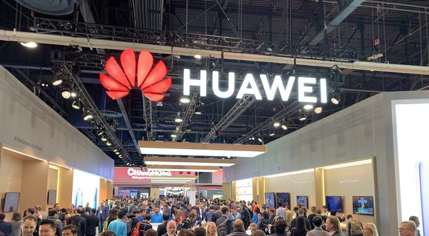 Huawei has released its latest results with sales up 23%, despite a ban in the US (Martyn Landi/PA)
