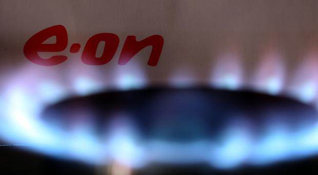 Energy giant E.on has blamed the energy price cap for sending UK retail earnings crashing 78% as it also lost more customers (PA)