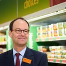 Sainsbury's shares have risen after the supermarket giant denied reports that it is looking to replace under-pressure boss Mike Coupe (Simon Tang/Sainsbury's/PA)