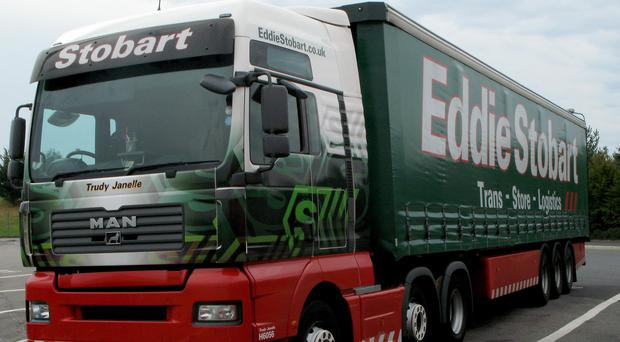 Eddie Stobart Logistics said a review could lead to lower earnings than expected (PA)