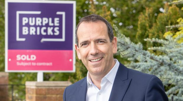 New Purplebricks CEO Vic Darvey (Purplebricks/Daniel Jones/PA)
