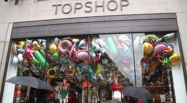 Topshop branches in the US are set to close (PA)