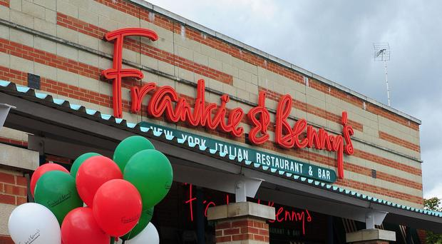 The Restaurant Group said it will wind down some Frankie and Bennys and Chiquito sites (PA)