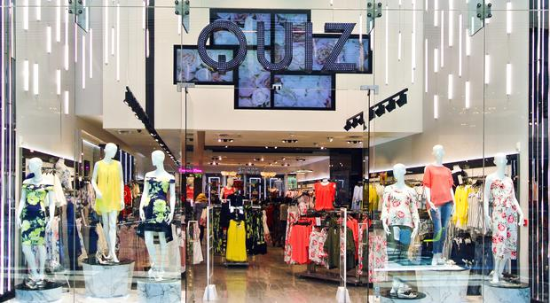 Undated handout photo issued by Quiz of their Westfield Stratford store, as the fast fashion firm warned trading conditions have remained 'challenging' over the summer (Quiz/PA)