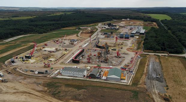 An aerial view of Sirius' Woodsmith mine (PA)