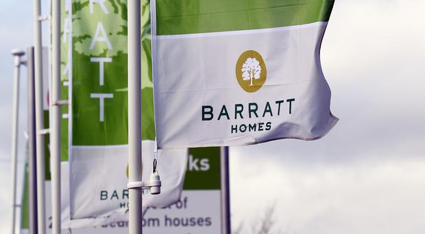 Barratts building work in the Ronkswood area of Worcester. The firm's boss has seen his annual pay package swell by a third after landing £2.7 million in bonuses.