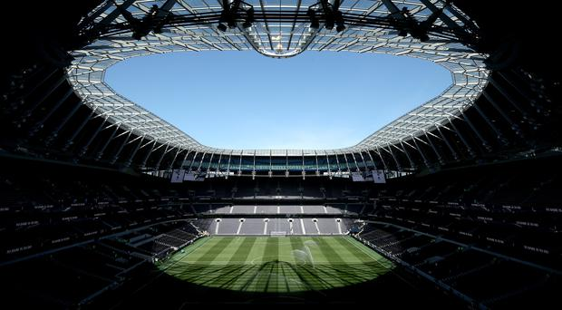All funding for the Tottenham Hotspur Stadium has been raised (Yui Mok/PA)