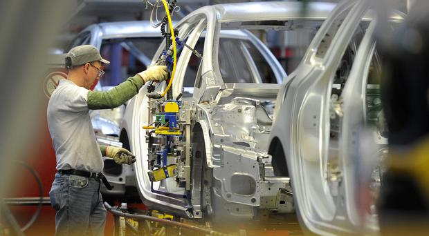 The UK and European markets were weighed down by weak manufacturing data for September (PA)