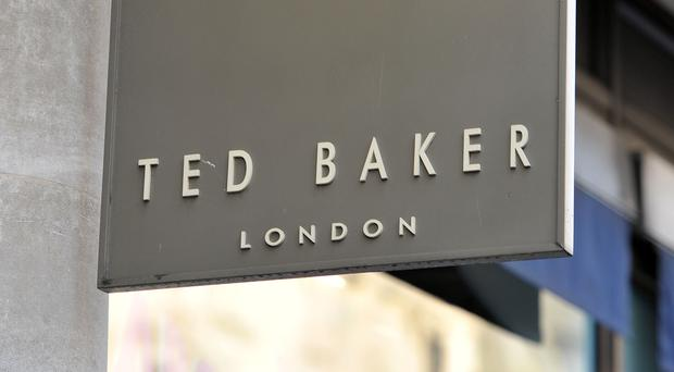 Ted Baker has unveiled its latest results, which were below expectations and saw the business slump to a loss (Nick Ansell/PA)