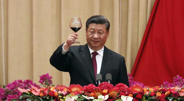China will have trade talks with the US on Thursday (Andy Wong/AP)