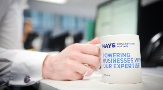 Hays beat analyst expectations on Tuesday, even as the fees it collected remained flat (Dan Lewis/VisMedia/PA)