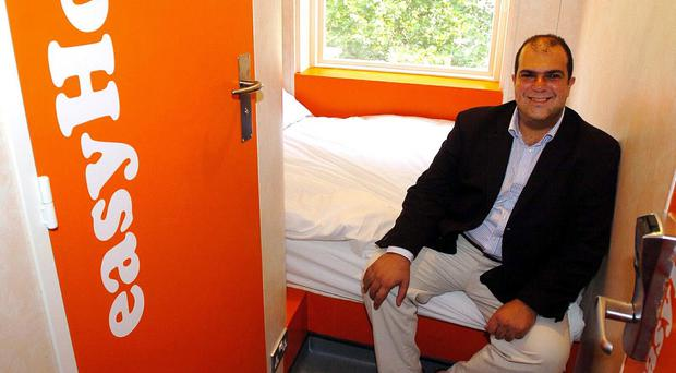 EasyHotel shares jumped after revenues rose despite weakness in the UK hotel market (Michael Stephens/PA)