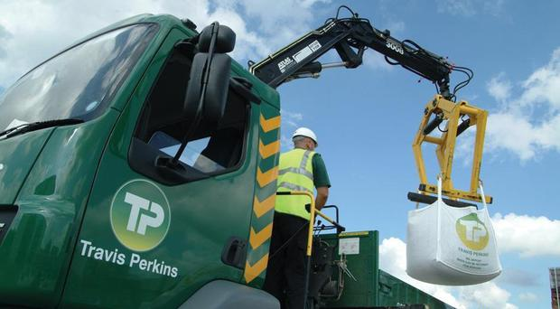 Travis Perkins retail business performed 'very well' according to Goodbody (Travis Perkins/PA)