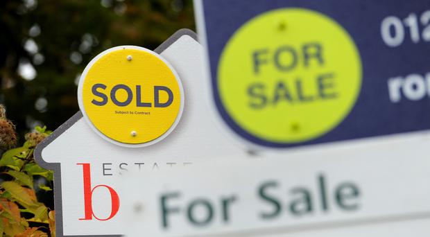 House prices across the UK increased at less than 1% for the 11th month in a row (PA)