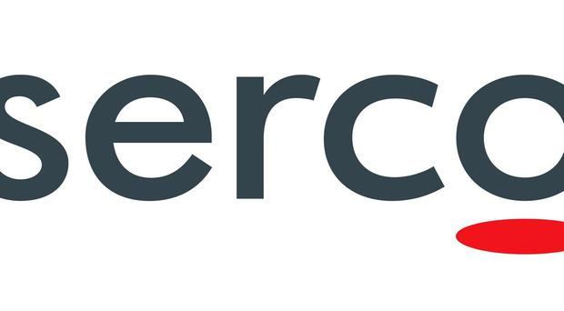 Undated file handout logo issued by Serco. The auditor for the company during the 2011 tagging scandal has been fined.
