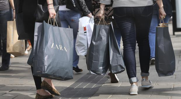 High street retail had a disastrous end to October (Philip Toscano/PA)