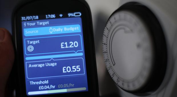 In September the Government abandoned plans to get a smart meter in every home by 2020 (Yui Mok/PA)