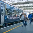 FirstGroup owns South Western Railway (FirstGroup/PA)