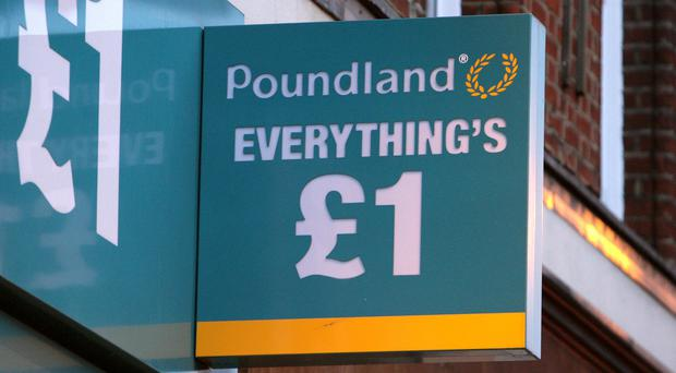 Poundland is launching a range of products priced from 50p to £5 in all stores (Dominic Lipinski/PA)