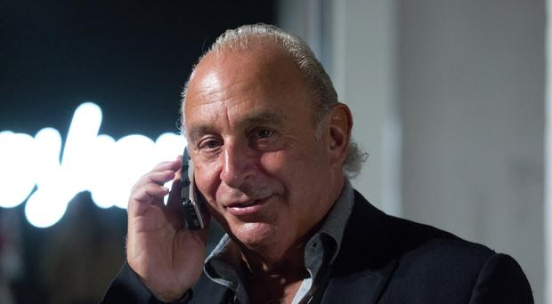 Sir Philip Green bought time earlier this year as he restructured the business (Isabel Infantes/PA)