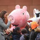 Peppa Pig has become a global hit in 40 different languages. (Danny Lawson/PA)
