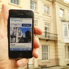 A property for sale in Portsmouth, Hampshire is viewed on the Rightmove website. (Chris Ison/PA)