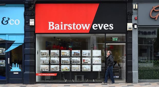 Bairstow Eves owner Countrywide has sold its commercial arm for £38m (Kirsty O'Connor/PA)